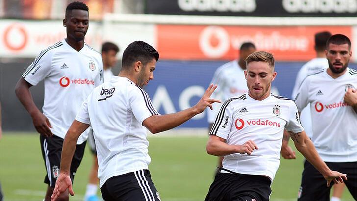 Beşiktaş'ta 5 futbolcu idmanda yok