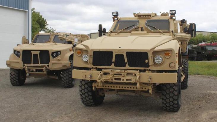 ABD'den Lübnan ordusuna 150 zırhlı araç yardımı