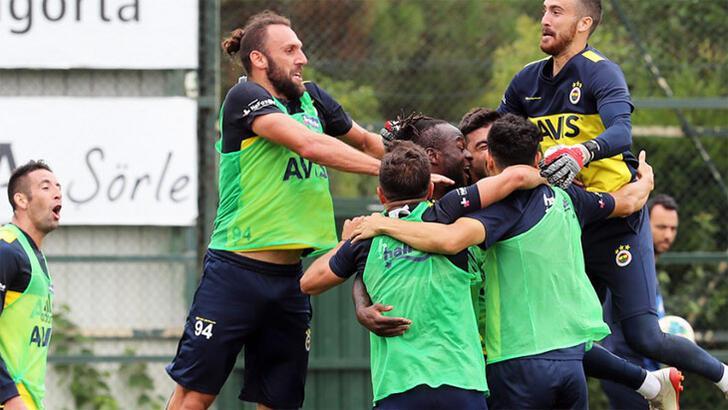 Fenerbahçe'de pas çalışması