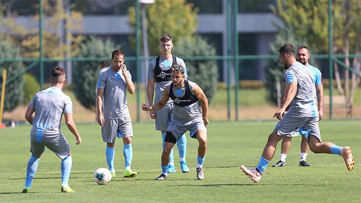 Trabzonspor'da AEK hazırlıkları sürüyor