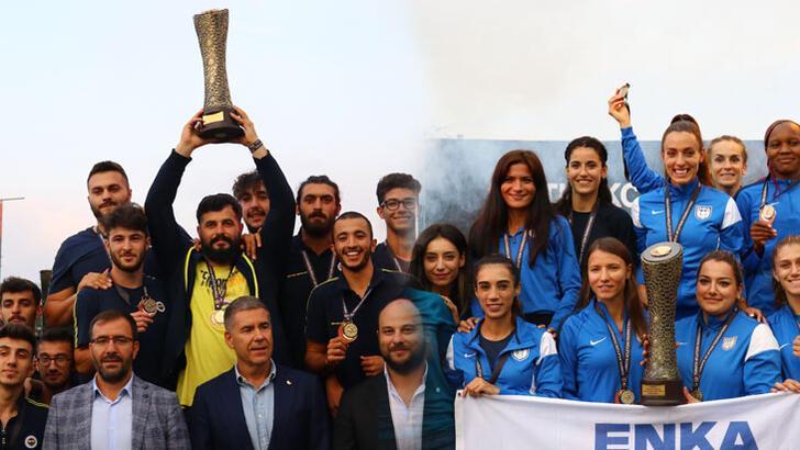 Erkekler Fenerbahçe, kadınlarda ENKA şampiyon!