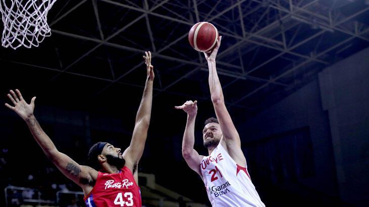 Milli basketbolcu Sertaç  Şanlı: Hedefimiz olimpiyata gitmek
