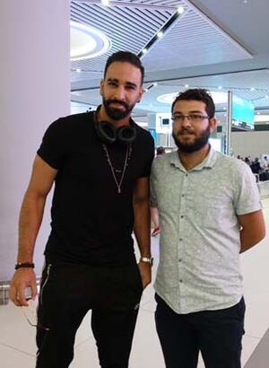 Adil Rami İstanbul'da!