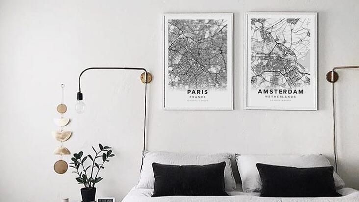 Özgün ve heyecan verici harita posterler