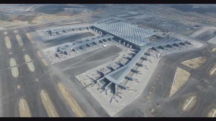 Türkiye'nin en önemli projelerinden olan İstanbul Yeni Havalimanı'ndaki son durum, açılmasına 46 gün kala havadan görüntülendi.HABERİN VİDEOSUNU İZLEMEK İÇİN TIKLAYIN