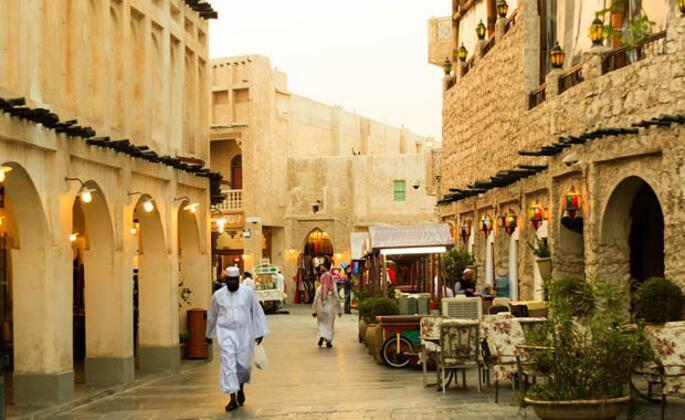 Katar'ın Renkli Otantik Pazarı: Souq Waqif