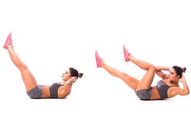1.Supine Leg Lifts
