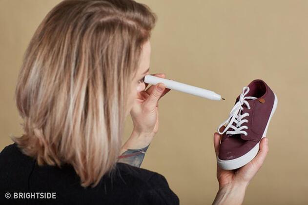 Bez ayakkabıları su geçirmez yapmak için: Mum