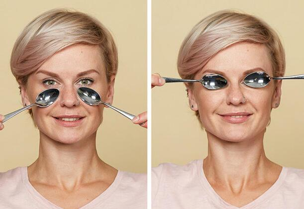 Cildimizin güzelliği ve sağlılığı çoğu zaman kan dolaşımına bağlı bir durumdur. Kan akışını sağlayarak cilt tonunu iyileştirebilir, cildinizin daha genç görünmesini sağlayabilirsiniz.Asyalı kadınların bulmuş olduğu bu yöntem için hangi malzemelere ihtiyacınız olduğu hemen sayalım.1 adet çay veya tatlı kaşığı, Hindistan cevizi yağı veya normal nemlendirici bir krem.Göz altı şişliklerini yok eden yöntem