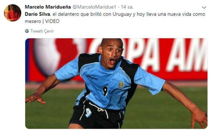 2002 Dünya Kupası'nda Uruguay formasıyla yıldızlaşan eski Malaga'lı oyuncu Dario Silva'nın hayat öyküsü adeta ibretlik...(Skorer Dış Haberler)