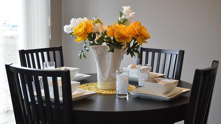 Yemek odanızı veya masanızı canlandırın