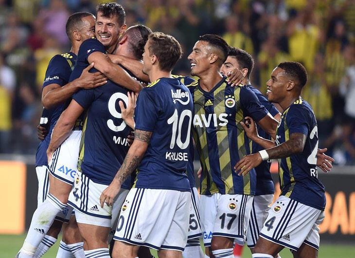 Süper F.Bahçe! 5 gol...