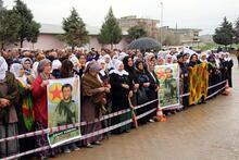 HDP'li 2 vekil PKK'nın Sur sorumlusunun cenazesine katıldı
