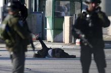 Son dakika: İsrail askerleri Filistinli kadını vurdu! Her saniyesi fotoğraflandı