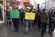 ABD'nin Kudüs kararına ülke genelinden protestolar