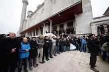 Fatih Cami'nde o teröristler içi gıyabi cenaze namazı