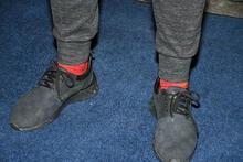 Berkay'ın yüzüğü ve çorabı dikkat çekti