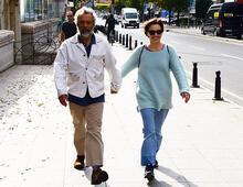 'Bu yaşta yürüyoruz'