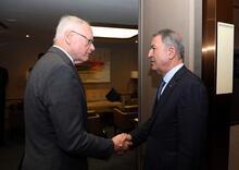 Bakan Akar ile James Jeffrey'den İstanbul'da kritik görüşme
