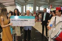 İstanbul Havalimanı'nda büyük sürpriz! Şaşkınlığını gizleyemedi