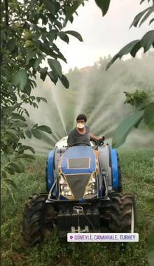 Burak Hakkı'nın çiftlik hayatı