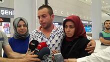 Hafter güçlerinin alıkoyduğu 6 gemici İstanbul'a geldi