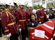 Şehit astsubay Cengiz Tokur, Ankara'da toprağa verildi