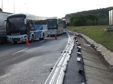 Yavuz Sultan Selim Köprüsü girişinde kaza!