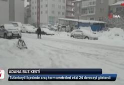 Adana buz kesti