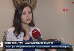 Çene estetiği için geldiği İstanbulda kabusu yaşadı