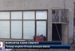 Burdurda kadın cinayeti