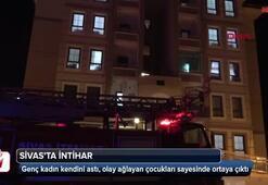 Sivasta genç kadın intihar etti