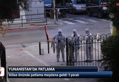 Yunanistanda patlama: 1 yaralı