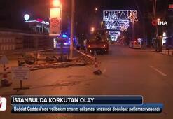 Bağdat Caddesi'nde doğalgaz patlaması