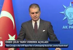 Ömer Çelik: Türkiyeden bir heyet Rusyaya gidiyor