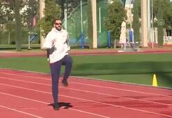 Ramil Guliyevin gözü Usain Boltun tahtında