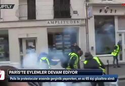 Pariste eylemler devam ediyor