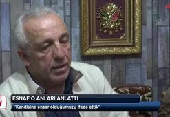 Cumhurbaşkanı Erdoğanın sohbet ettiği esnaf o anları anlattı