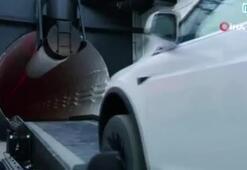 Musk'ın dev yeraltı tünelinin bir kısmı açıldı