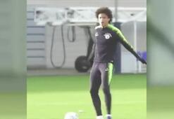 Leroy Saneden Ronaldo sevinci
