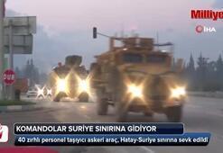 Hatay sınırına 40 askeri araç sevk edildi