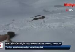 Naylon poşet yasasına kar banyolu destek