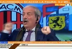 Hakan Çalhanoğlu attı, spiker çıldırdı