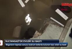 Sultangazide evleri su bastı