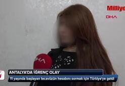 Tecavüzün hesabını sormak için Türkiyeye geldi