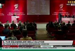 G.Saray, Fenerbahçe ve Trabzonsporun rakipleri belli oldu