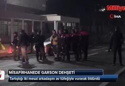 Karayollarının misafirhanesinde garson dehşet saçtı: 2 ölü