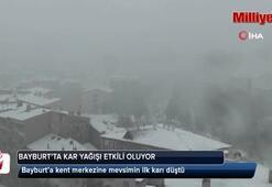 Doğu Karadenizde kar yağışı başladı