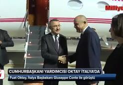 Cumhurbaşkanı Yardımcısı Oktay, İtalya Başbakanı ile görüştü