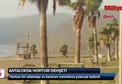 Antalyada hortum dehşeti